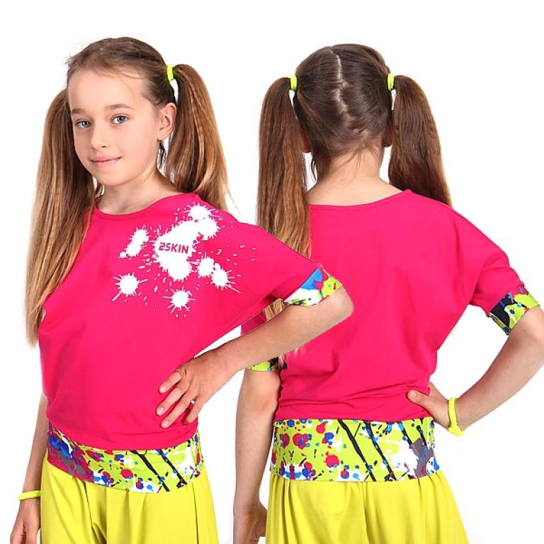 986522653b11 Detské tanečné tričko BOOMBASTIC