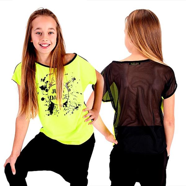 f976932bb06f Detské tanečné tričko JUST DANCE