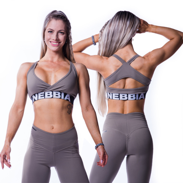 Fitness podprsenka OPEN BACK MINI TOP 620