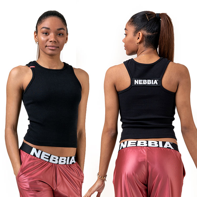 Dámský crop top 516 Sports NEBBIA Labels